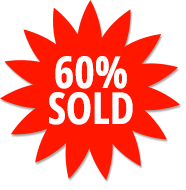 60% Sold